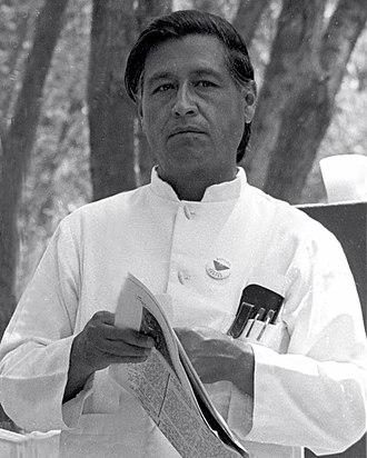 Cesar Chavez - Chavez in 1974