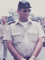 """סא""""ל חיים גרובר בבסיס אשדוד, 1984"""