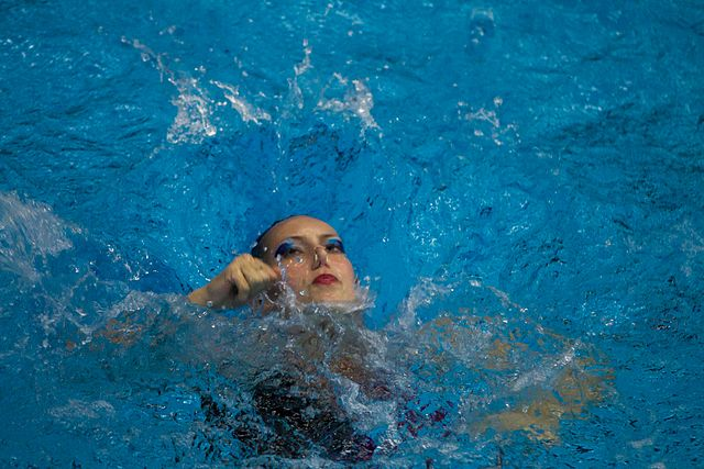 Championship of the North-West Federal District in synchronized swimming (2016-10-20) 18.jpg