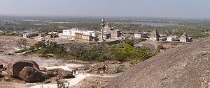 Chandragiri hill - Image: Chandragiri temple complex