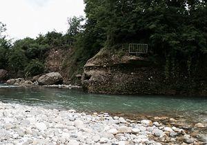 House of Chichua - Chanistskali (ჭანისწყალი) River