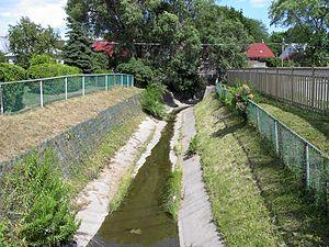 Taylor-Massey Creek - Channelized Creek