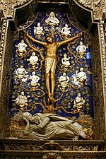 Chapel of the Crucifix - Cathedral of Monreale - Italy 2015.JPG