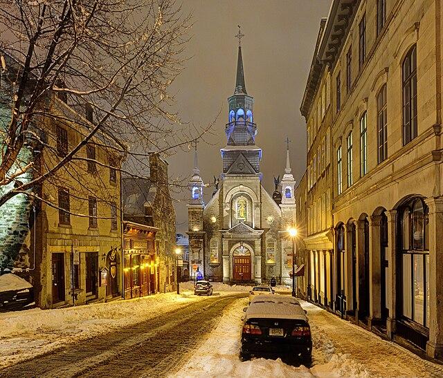 1st place: Chapelle Notre Dame de Bonsecours, Vieux port, Montréal by      Jazmin Million