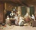 Charles Auguste Romain Lobbedez Family time.jpg