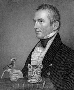 Charles Waterton established the first nature reserve in 1821. Charles Waterton.jpg