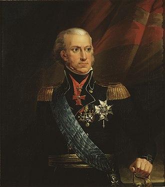 Carl Frederik von Breda - Portrait of Charles XIII of Sweden