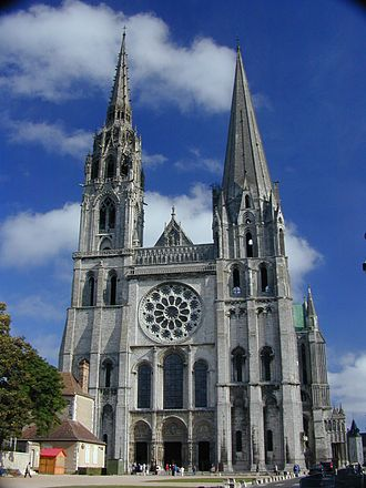 Episcopal polity - The government of a bishop is typically symbolized by a cathedral church, such as the bishops's see at Chartres Cathedral.
