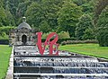 Chatsworth House - LOVE on the cascade - geograph.org.uk - 1217914.jpg
