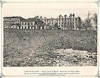 Chavoncourt les casernes et les réseaux de fils de fer barbelés 568.jpg
