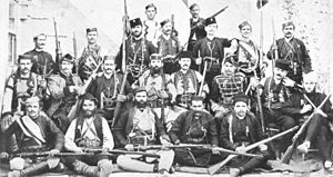 Chetniks - Chetnik commanders in Macedonia, July 1908.