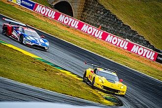 WeatherTech SportsCar Championship - Image: Chevrolet Corvette C7.R and Ford GT 2017 Petit Le Mans