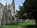 Chichester Cathedral churchyard - geograph.org.uk - 1287925.jpg