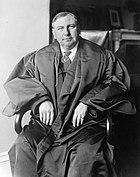 Chief Justice Harlan Fiske Stone photograph circa 1927-1932