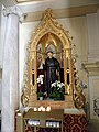 Chiesa di Santa Giustina, interno (Pernumia) 01.jpg