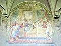 Chiostro grande di smn, lato sud 06 giovanmaria casini, sant'antonino visita Pio II come ambasciatore di Firenze, dataz. incerta.JPG