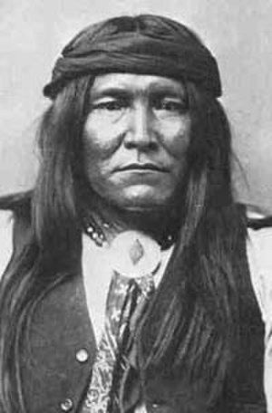 Chato (Apache) - Image: Chiricahua Apache scout Chatto