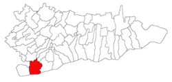 Location of Chirnogi, Călăraşi