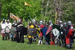 Society for Creative Anachronism - Society for Creative Anachronism armored combat participants