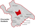 Chorweiler Stadtteil Blumenberg.PNG