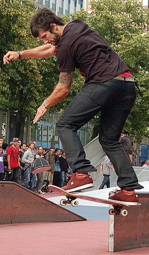 Chris Cole (skateboarder) - Chris Cole in Rotterdam (2011)