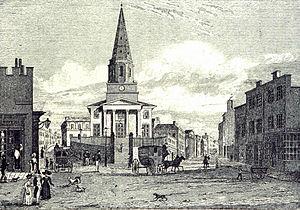 Christ Church, Birmingham - Image: Christ Church, Birmingham cropped contrast