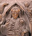 Christ in Majesty surrounded by the Tetramorph in the Basilique Saint-Sernin-IMG 1838.JPG
