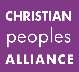 Christian Peoples Alliance Christian political party in the United Kingdom