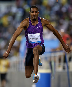 Christian Taylor (athlete) - Taylor at the Qatar Athletic Super Grand Prix in 2015