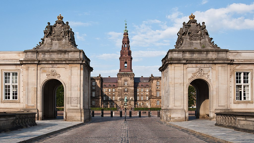 Le château de Christiansborg à Copenhague - Photo de Julian Herzog