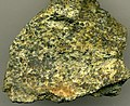 Chromitic serpentinite (Soldiers Delight Ultramafite; chromite mine in the Bare Hills, Baltimore County, Maryland, USA) (14635729769).jpg