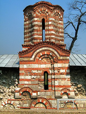 Nikopol, Bulgaria - The medieval Church of Saints Peter and Paul in Nikopol
