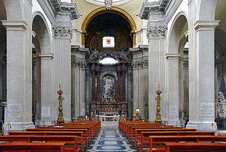 San Giovanni dei Fiorentini - The nave.