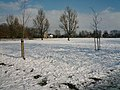 Churchfields Recreation Ground (snow scene) - geograph.org.uk - 1186067.jpg