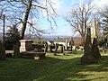 Churchyard, and view, Christchurch, Newport - geograph.org.uk - 1726702.jpg