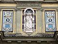 Cimitero dall'antella, arco monumentale dell'ingresso, sculture di amalia duprè 01.JPG