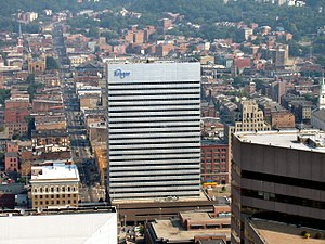 Downtown Cincinnati - Kroger headquarters