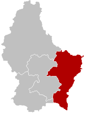 Est (Chamber of Deputies of Luxembourg constituency) - Circonscription Est within Luxembourg.