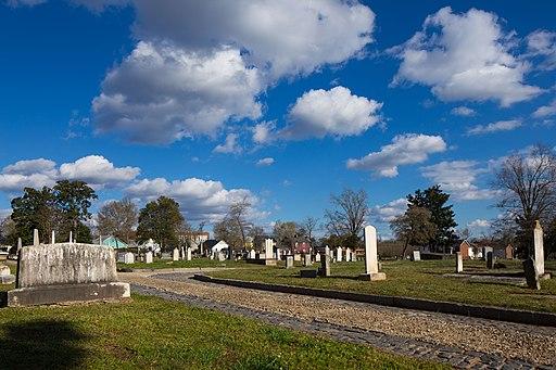 City Cemetery of Raleigh, North Carolina (April 5 2013)