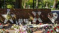 City of London Cemetery and Crematorium ~ white floral tributes.jpg