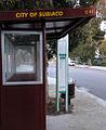 City of Subiaco bus stop 2005 SeanMcClean.jpg
