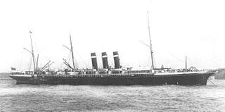SS <i>City of New York</i> British built passenger liner