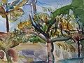 Clara Vogedes - Provence, Herbstbäume, 1971.jpg