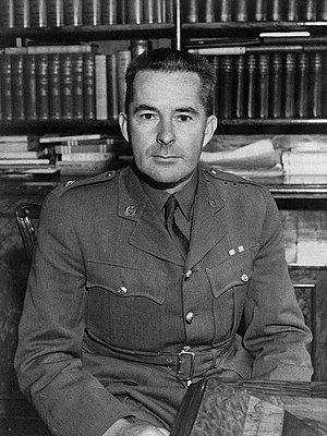 Jerry Skinner - Skinner as an Army Major in WWII.