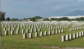 Clark Veterans Cemetery - Graves at Clark Cemetery, 2011