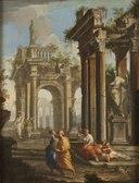 Classical Buildings with Columns (Alberto Carlieri) - Nationalmuseum - 17068.tif