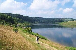 Clatworthy Reservoir - Image: Clatworthy Reservoir