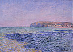 Claude Monet - Shadows on the Sea. The Cliffs at Pourville - Google Art Project.jpg