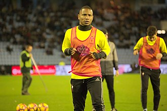 Claudio Beauvue - Beauvue with Celta in 2017