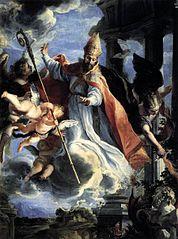 Le Triomphe de Saint Augustin